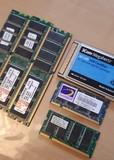 Pack de memorias, tarjeta de red - foto