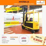 HYSTER 3000KG - - BATERÍA NUEVA 80V - foto