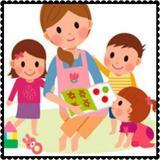 Cuidado de niños y mayores - foto