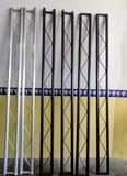 Truss paralelo en color plata i negro - foto