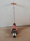Marioneta antigua de ceramica - foto