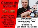 CLASES DE GUITARRA POR VIDEO-CONFERENCIA - foto