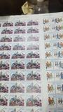 2 pliegos de 50 sellos cada uno - foto