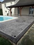 suelos de hormigón impreso - foto