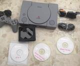 Playstation 1, 3 juegos y optica nueva - foto