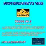 Mantenimiento web - foto