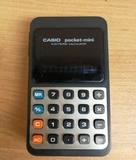 calculadora casio pocket mini funciona - foto