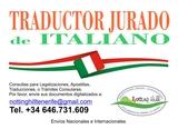Traducciones Juradas de Italiano. - foto