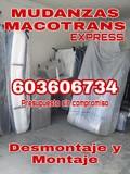 Mudanzas-portes de motos-port palets - foto