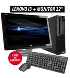 """Ordenador Lenovo I3+Monitor HP 22\\\"""" - foto"""