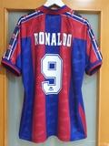 FC BARCELONA 1996/97.  L.  RONALDO FENÓMEN - foto