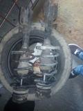suspension y asientos vito w638 - foto