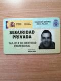 VIGILANTE DE SEGURIDAD CON TIP EN VIGOR.  - foto