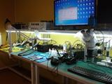 Reballing graficas laptop y pc - foto