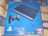 PS3 12gb con 10 juegos - foto