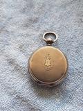 Reloj de bolsillo CylindrRubis Plata - foto