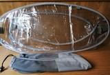 Plastico protector lluvia para carrito b - foto