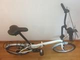 bicicleta plegable va muy bien - foto