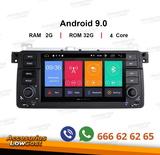 Navegador android 9.0 hd dvd bmw e46 - foto