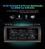"""GPS 10,25\"""" ANDROID BMW serie5 E39 y X5 - foto"""