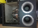 Subwoofer innovate material car audio - foto