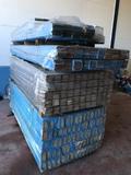 Rodapiés macizos barnizados Jatoba - foto