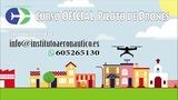 curso oficial piloto drones profesional - foto