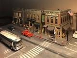 Maqueta h0 american street - foto