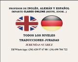 PROFESOR DE INGLÉS,  ALEMÁN Y ESPAÑOL - foto