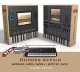 Rhodes Affair - MONTAGE, MODX, XF y MOXF - foto