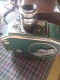 video cámara de cine hauer antigua - foto