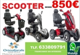SCOOTER ELECTRICOS MINUSVALIDOS SILLAS - foto