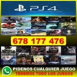 VENDO JUEGOS PS4/,,678,,177,,476,,/)),.- - foto