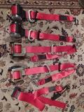 cinturones rojos golf mk4 - foto