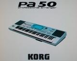 Teclado Korg pa50 - foto