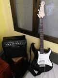 Guitarra Yamaha Pacifica 012 + Ampli - foto