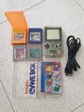 Game boy pocket con caja y juegos - foto