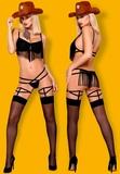 shows lesbico striper valencia - foto
