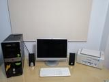 Equipo de informática sobremesa - foto