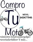 SUZUKI - COMPRO MOTOS EN MAL ESTADO- - foto