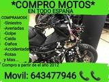 KYMCO - COMPRO MOTOS CUALQUIER DAÑO Y+ - foto