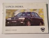 Manual uso instrucciones Lancia Dedra - foto
