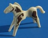 0006 muÑeco caballo de playmobil usado t - foto