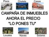 CAMPAÑA PON EL PRECIO.  INMUEBLES DE BANCO - foto