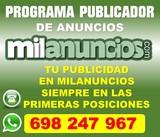 Software publicidad milanuncios/(`p+p`+ - foto