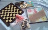 Juegos de mesa pequeños - foto