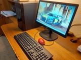 vendo cpu +teclado +monitor - foto