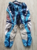 pantalones moto cross tela y cuero T 34 - foto