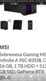 Ordenador  Gaming MSI Infinite - foto
