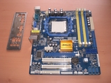 Placa base socket AM2 y AM3. asrock n68 - foto